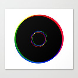 RGB Ringing Canvas Print