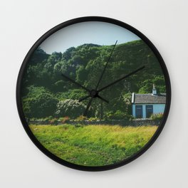 Cottage By the Sea Wall Clock