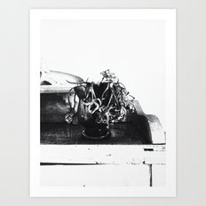 | still life - a study of the withered time | Art Print