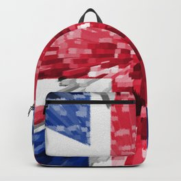 Extruded Flag of the United Kingdom Backpack