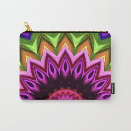 Sun And Flower Carry-All Pouch