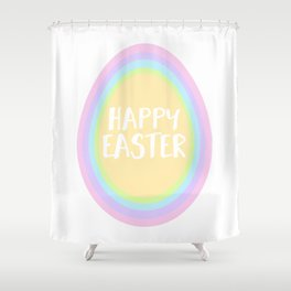 EASTER EGG INCEPTION Shower Curtain