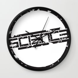 Circle Logo Wall Clock