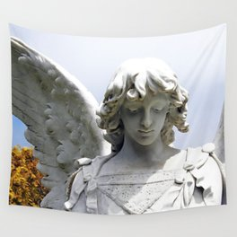 Autumn Angel Wall Tapestry