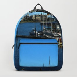 Harbor Of Victoria - Vancouver Island Backpack