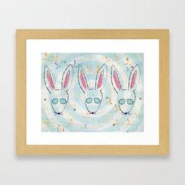 Bunsies Framed Art Print