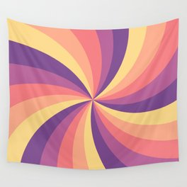 Candy Swirl Wall Tapestry