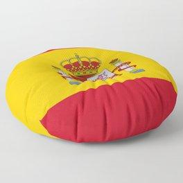 Spain Flag Floor Pillow