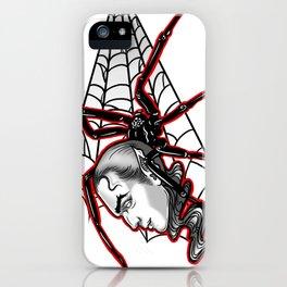 Vampire Spider iPhone Case