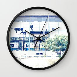 Cristales rotos Wall Clock