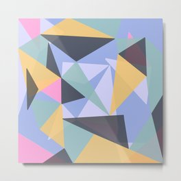 Geometric 2.2 Metal Print