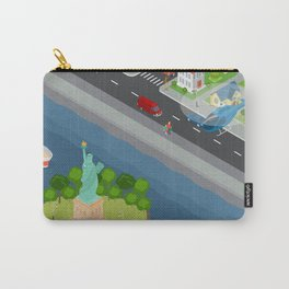 Helicopter tour of New York City Carry-All Pouch