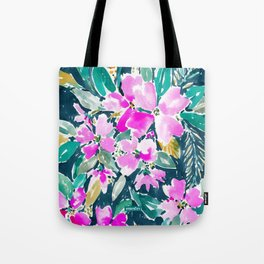 SUP DAWG Dogwood Floral Tote Bag