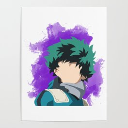 My Hero Academia Minimalist (Midoriya/Deku) Poster