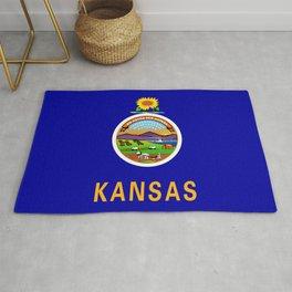 Kansas State Flag Rug