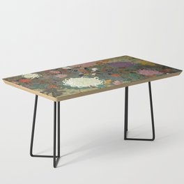 flower【Japanese painting】 Coffee Table
