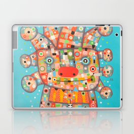 Clown with Flower Laptop & iPad Skin