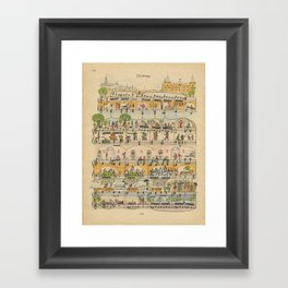 City Park Framed Art Print