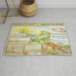 Vintage poster - Absinthe Beucler Rug