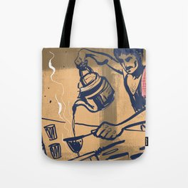 Tapri - Indian Tea Stall Tote Bag