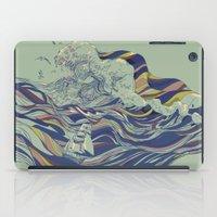 huebucket iPad Cases featuring OCEAN AND LOVE by Huebucket