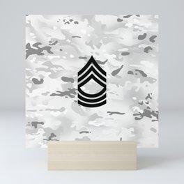 Master Sergeant (Winter Camo) Mini Art Print