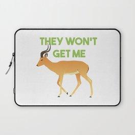 Antelope The Won't Get Me Laptop Sleeve