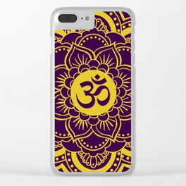 Lotus Vibrations Clear iPhone Case