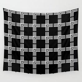 Geometric Plus Sign Pattern Wall Tapestry