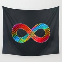 infinite Wall Tapestries featuring Infinite by deff