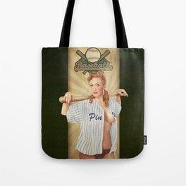 VINTAGE GIRLS - Baseball Tote Bag
