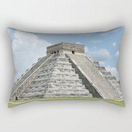 Chichen Itza, El Castillo 1 Rectangular Pillow