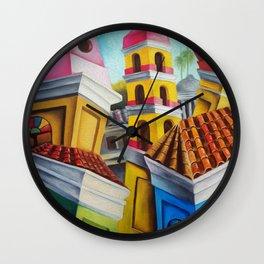 Remedios, Cuban town Wall Clock