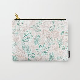 Leafy Texture I Carry-All Pouch