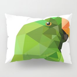 Eclectus parrot Geometric bird art Pillow Sham