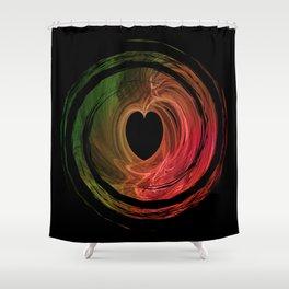 Love Spun Shower Curtain