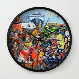 Il traffico di Palermo Wall Clock