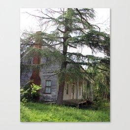 Old Cajun Home Canvas Print