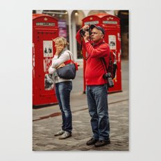 American Tourist wife Wife  Canvas Print