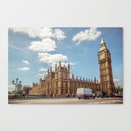 Big Ben & Houses of Parliament Canvas Print