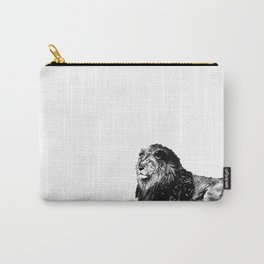Lion Pen Strokes Carry-All Pouch