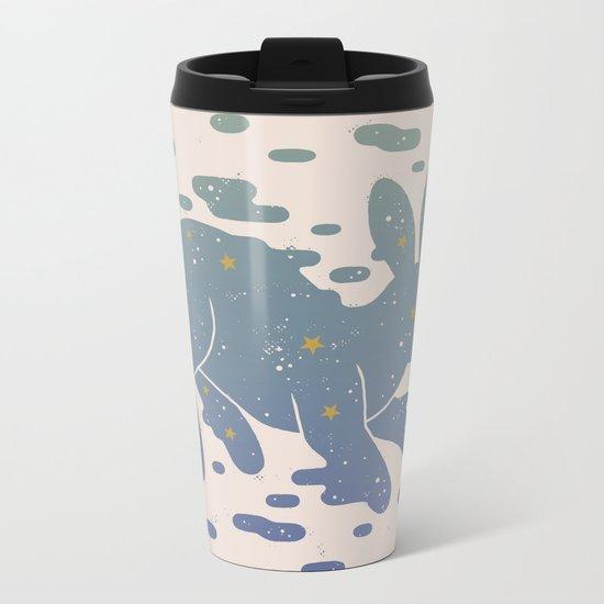 Lepus Constellation: Pastel Metal Travel Mug