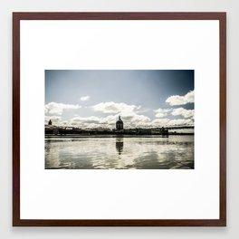 Le Dôme Framed Art Print
