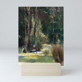Tom Roberts A Sunday Afternoon Mini Art Print