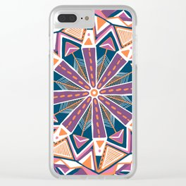montana, mandala Clear iPhone Case