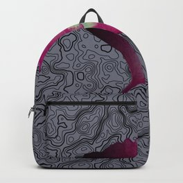 ginko biloba leaf... Backpack