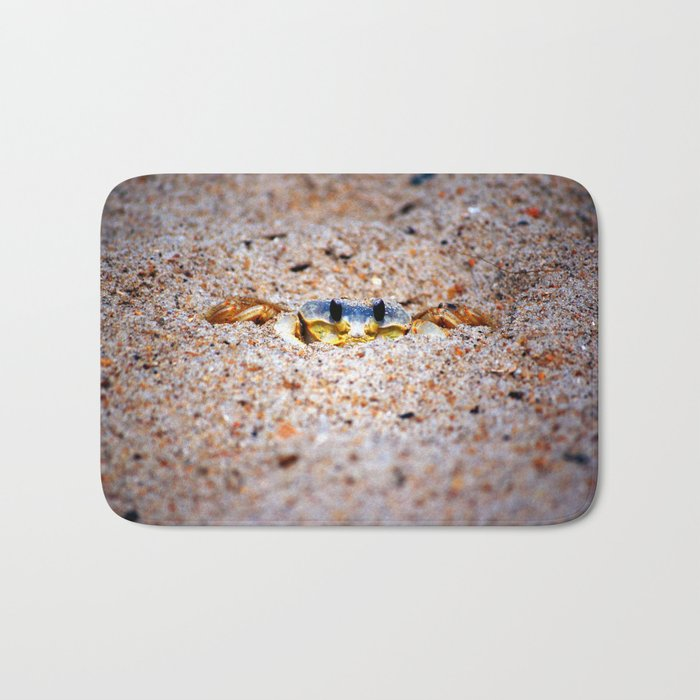 Ghost crab sighting Bath Mat