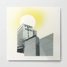 Remote Hotel Metal Print