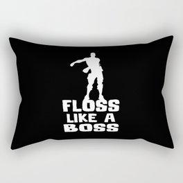 Floss Like A Boss Rectangular Pillow