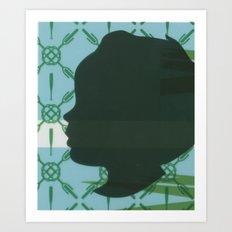 Lawn study 3 Art Print
